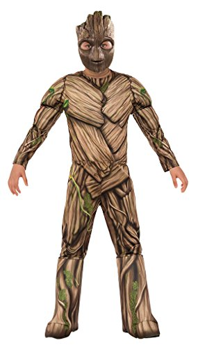 Faerynicethings Deluxe Groot Child Size Costume - GOTG 2 - S -
