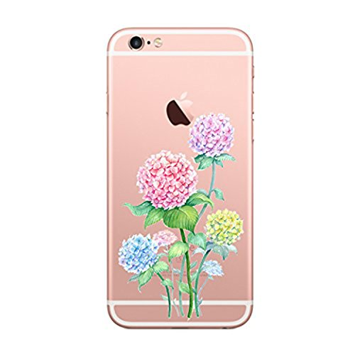 Price comparison product image Beryerbi iPhone 6 6s Case Shock-Anti Soft Clear TPU Gel [Slim Fit] Silicone Protective Cover For Apple 6s/iPhone 6 (7, iPhone 6 6s)