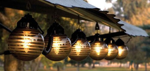 Outdoor Lighting For Awning
