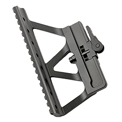 Woltis Tactical CNC AK47/74 Side Rail Scope Mount Weaver Black