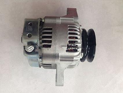 GOWE Pieza de motor para alternador de pieza de motor nuevo 12 voltios Nº de pieza 129620-77201 para motor Yanmar 4TNE88