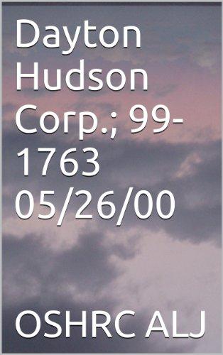 Dayton Hudson Corp.; 99-1763  05/26/00