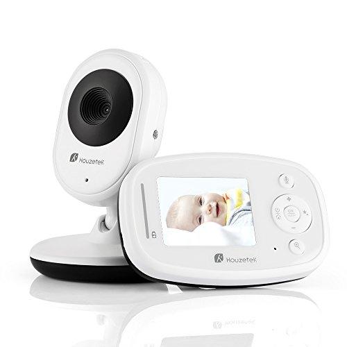 Video Baby Monitor with Digital Camera, Houzetek LCD Display