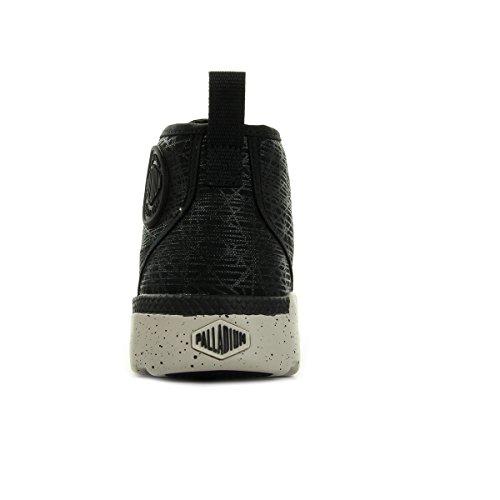 Palladium Plvil Hi Black/Wind Ch/ Spider Pt 74688H19, Boots