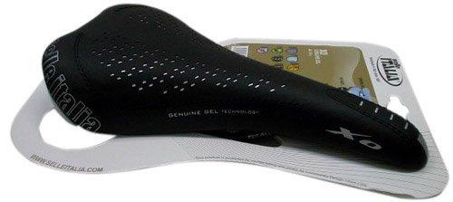 Genuine Gel Saddle - Selle Italia saddle XO Genuine gel black MTB Saddle by Selle Italia