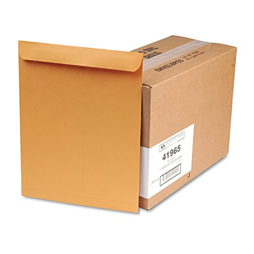 Columbian CO695 12x15-1/2-Inch Catalog Brown Kraft Envelopes, 250 Count Columbian Open End Catalog Envelopes
