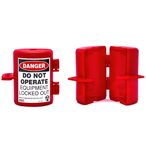 ZING 7105 RecycLockout Lockout Tagout, Small Plug Lockout, Recycled Plastic by Zing Green Products (Image #1)