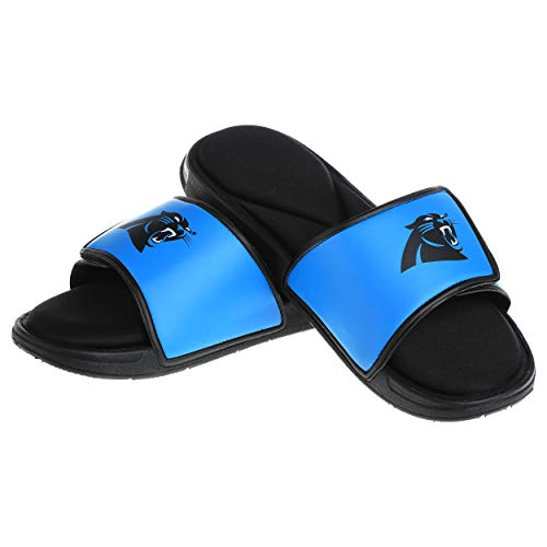 Carolina Panthers NFL Mens Foam Sport Slide - M