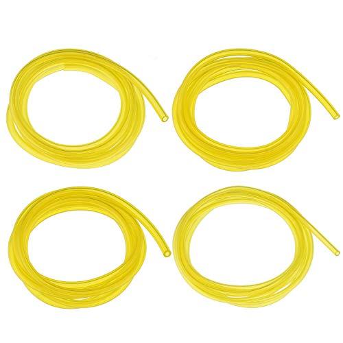 Fuel Line Yellow - TENINYU Fuel Line Hose Tube (4Size x 6Ft) I.D x O.D 0.08