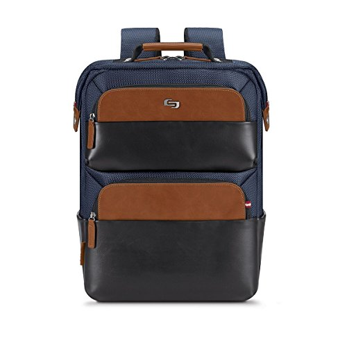 Solo East Hampton 15.6 Inch Laptop Backpack, Navy
