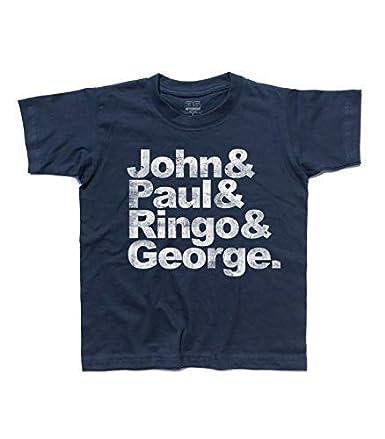 3stylershop T-Shirt Bambino Beatles Paul Ringo /& George John