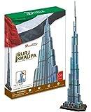 Cubic Fun MC133h–3d puzzle Burj Khalifa Dubaï Émirats arabes