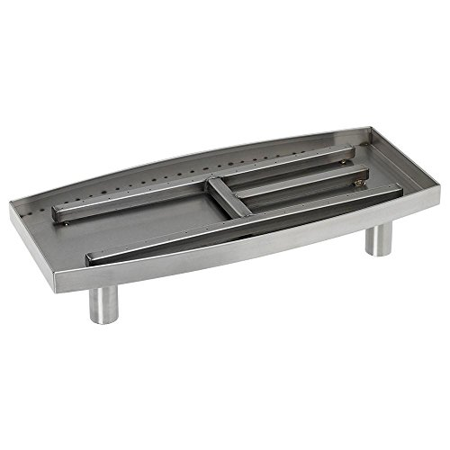 Stainless Steel Oval Burner - 6