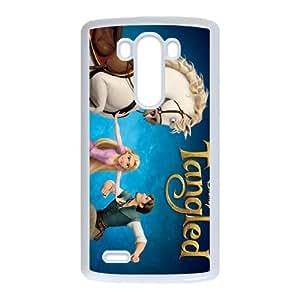 LG G3 Phone Case White Tangled Flynn Rider WF4152981