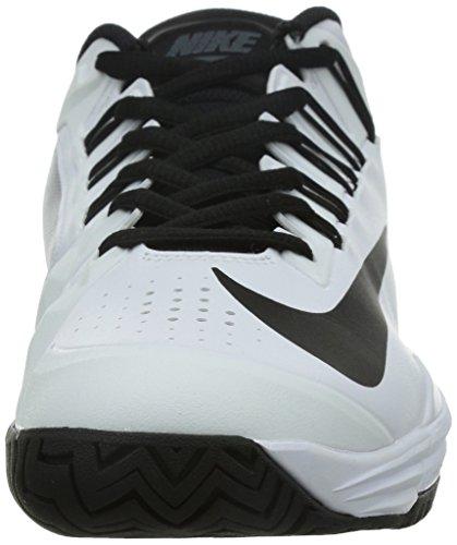 Nike Lunar Ballistec 1,5 Menns Tennis Trenere 705285 Joggesko Sko Hvit /  Svart- ...