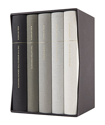 Bibliotheca: Complete Multi-volume Reader's Bible Clothbound Set, 5 Volumes (Including the Apocrypha) (Bible Gateway Esv)
