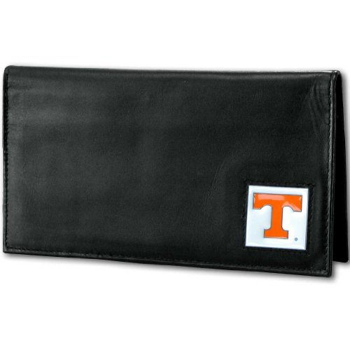 NCAA Tennessee Volunteers Deluxe Leather Checkbook Cover