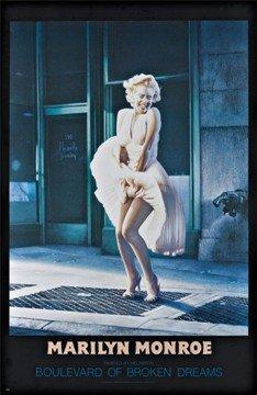 Marilyn Monroe - Boulevard of Broken Dreams by Helnwein Art Print Poster