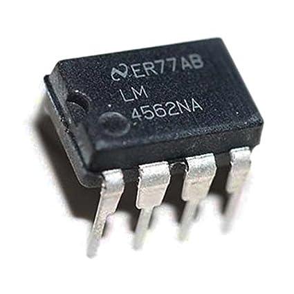 LM4562NA DIP-8 Hi-Fi Audio Amplificadores de funcionamiento Op Amp IC baja distorsión