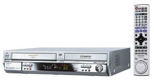 パナソニック 160GB DVDレコーダー VHSビデオ一体型 DIGA DMR‐E250V-S B00063HC52