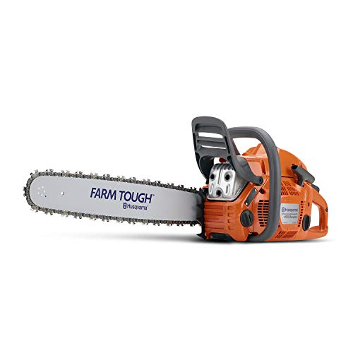 (Husqvarna 20 Inch 455 Rancher Gas Chainsaw)