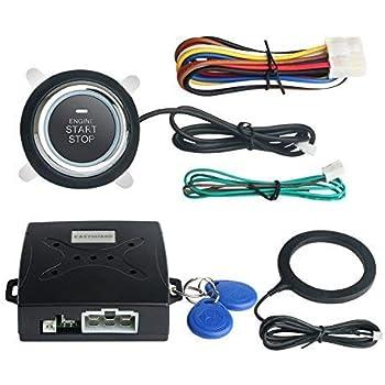 easyguard ec004 smart rfid car alarm system. Black Bedroom Furniture Sets. Home Design Ideas