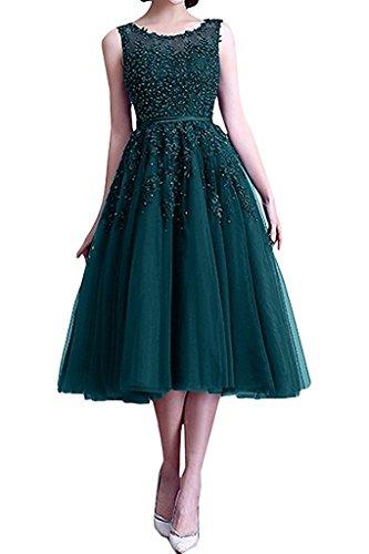 Spitze Braut Blau Festlichkleider Wadenlang Abendkleider Tuelll Promkleider Partykleider Tinte mia La Damen Festlichkleider Schwarz 5OpxqWvIw