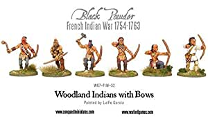 Amazon com: Warlord Games, Woodland Indians With Bows