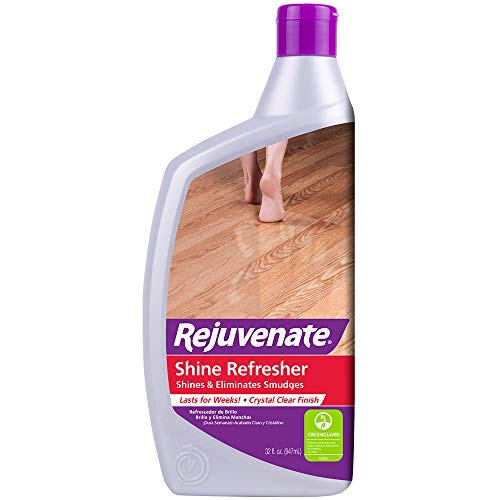 Rejuvenate Shine Refresher and Protection Cleans and Shines Newer Wood, Laminate, Linoleum, Vinyl and All Floors and Maintains Recently Rejuvenated Floors – 32 ()