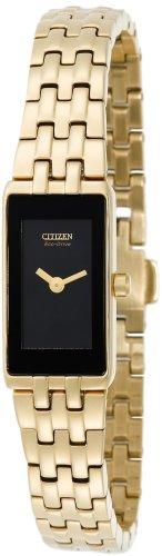 Citizen Women's EG2702-52E Eco-Drive Silhouette Gold-Tone Watch