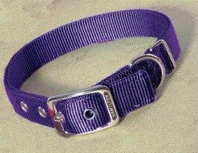 Double Thick Deluxe Dog Collar Size: 24