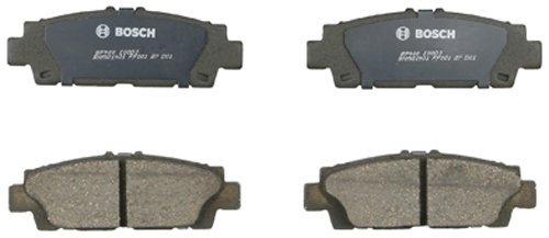 - Bosch BP488 QuietCast Premium Semi-Metallic Disc Brake Pad Set For 1990-1992 Lexus LS400; Rear