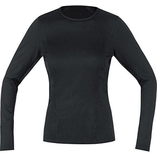 Gore Bike WEAR Women's Base Layer Lady Thermo Long Shirt, X-Small, Black