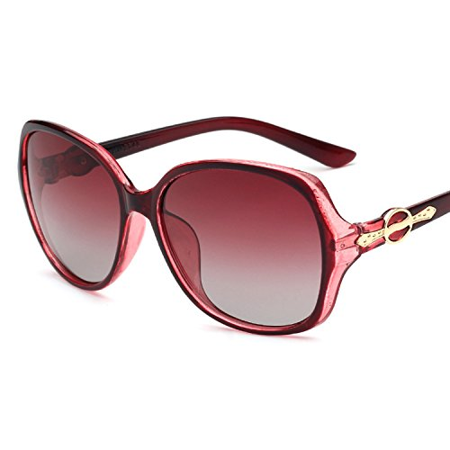 Lady Polarizer Sunglasses New Large Frame ()