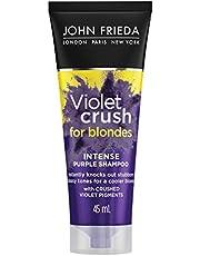 John Frieda Violet Crush Intense Purple Shampoo, 45 ml