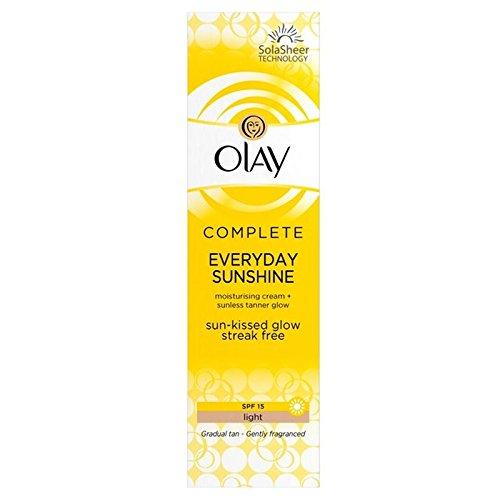 Olay Moisturiser Light Sun-Kissed Glow SPF 15 50ml (Pack of 6) - オーレイの保湿剤の光太陽のキスグロー 15 50ミリリットル x6 [並行輸入品]   B071V82PB1
