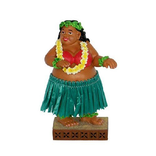 Sweet Wahine Dashboard Doll 4'' by KC Hawaii by KC Hawaii