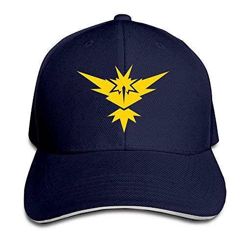 Unisex Adult Pokemon Hats GO Baseball Navy Zapdos Hat Caps Snapback Cap 4Rw5q