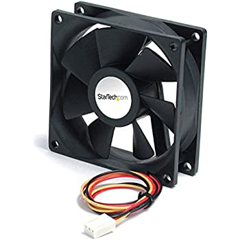 StarTech.com 90x25mm High Air Flow Dual Ball Bearing Computer Case Fan w/ TX3