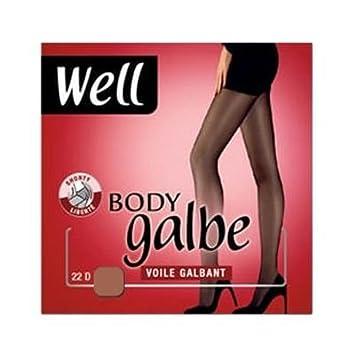 Well - Collant T2 Body Galbe shorty liberté Miel  Amazon.fr  Beauté ... ee0e522cbcf