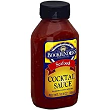 BOOKBINDERS SAUCE COCKTAIL, 10.5 OZ