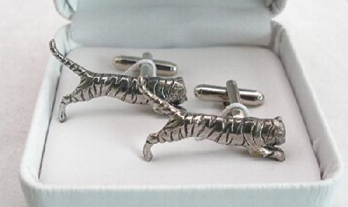 Tiger Pewter Cuff Connectors – Gift Boxed