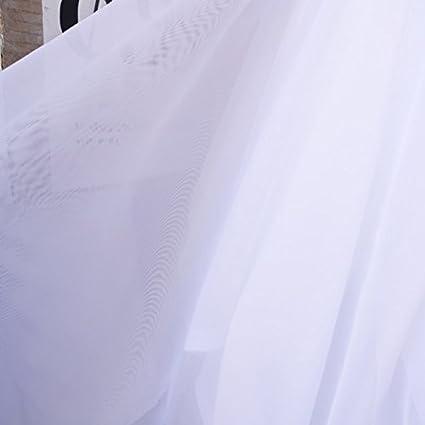 "25 Yards 120/"" Wide Voile Chiffon Fabric Sheer Draping Drape Panel Wedding SALE*"