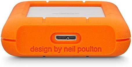 LaCie Rugged Mini - Disco Duro Externo de 4 TB con USB 3.0 ...