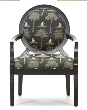 Superb Black Palm Tree Accent Chair Amazon Ca Home Kitchen Caraccident5 Cool Chair Designs And Ideas Caraccident5Info