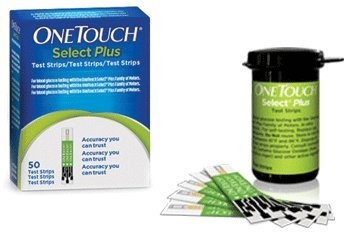 Lifrscan One Touch Select Plus Diabetic Test Strips 50CT