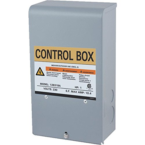 Star Water Systems 126319A 1 HP 3 WIRE Submersible Pump CONTROL BOX (Box Hp Control 1)