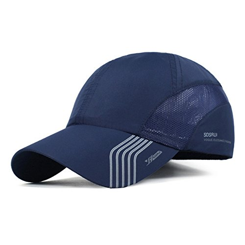 CATOP Baseball Cap,Quick Dry Hats,Ultra Light Mesh Back Portable Sun Hats for Sports Golf Running Fishing Outdoor Research (only 40g / 4 Colors)