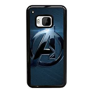 HTC One M9 Cell Phone Case Black The Avengers Logo AS7YD3600273