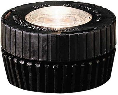 Kichler 15190BK In-Ground 1-Light 12V, Black Material (Not Painted)